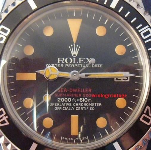 ROLEX SEA DWELLER 1665, L'EVOLUTION (PART II)