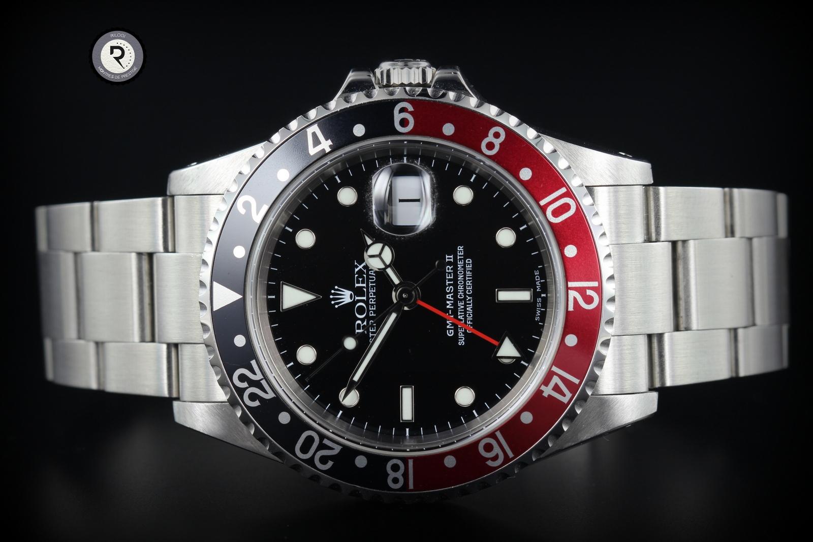 ROLEX GMT II 16710 8650€