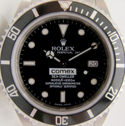 ROLEX SEA DWELLER 16600 COMEX