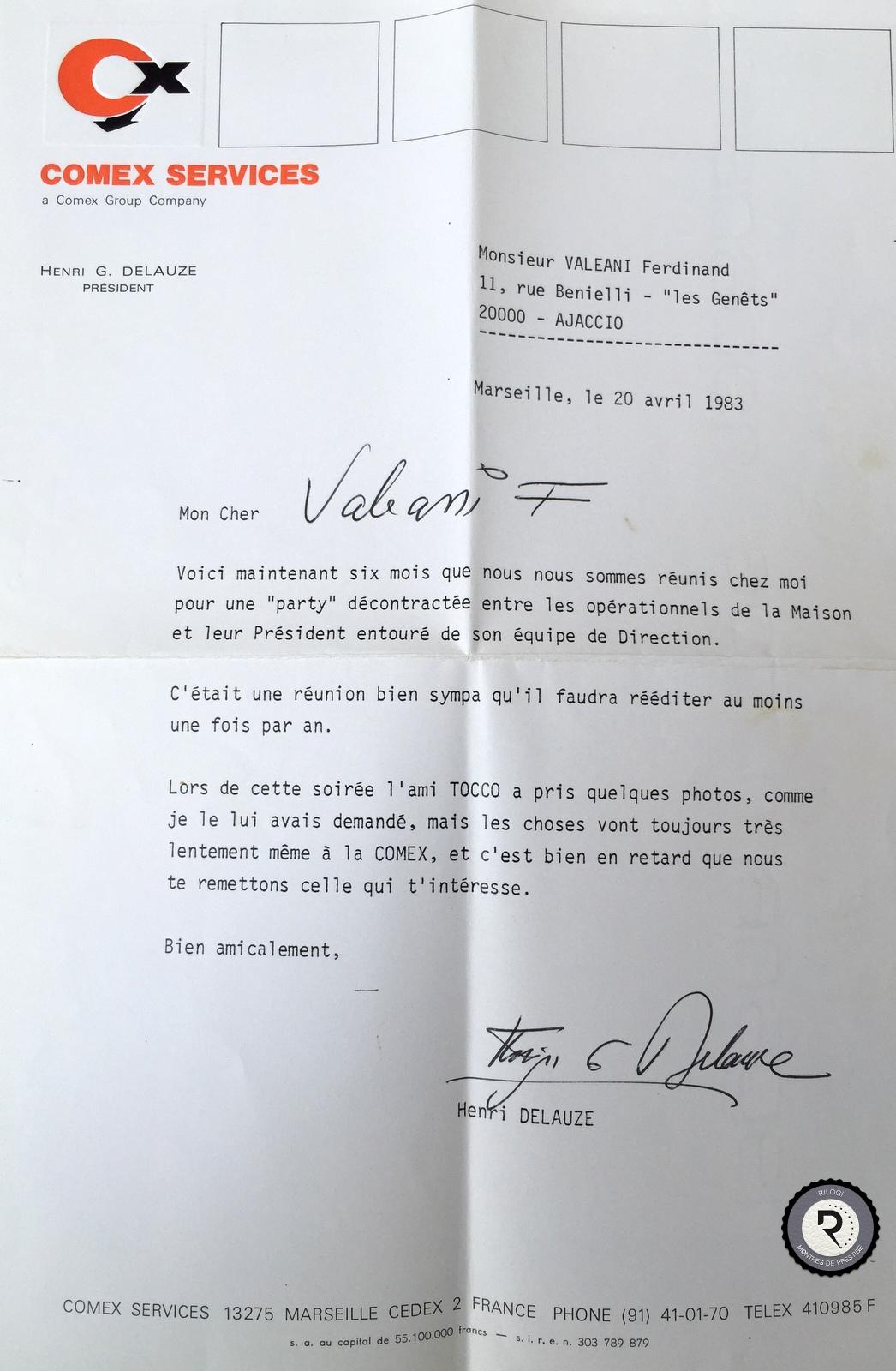 NOM: VALEANI, PROFESSION: PLONGEUR D'ELITE