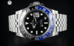 ROLEX GMT BATMAN  <font color=#FF0000> VENDU